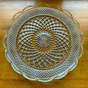 Anchor Hocking - Wexford Glass Torte Plate